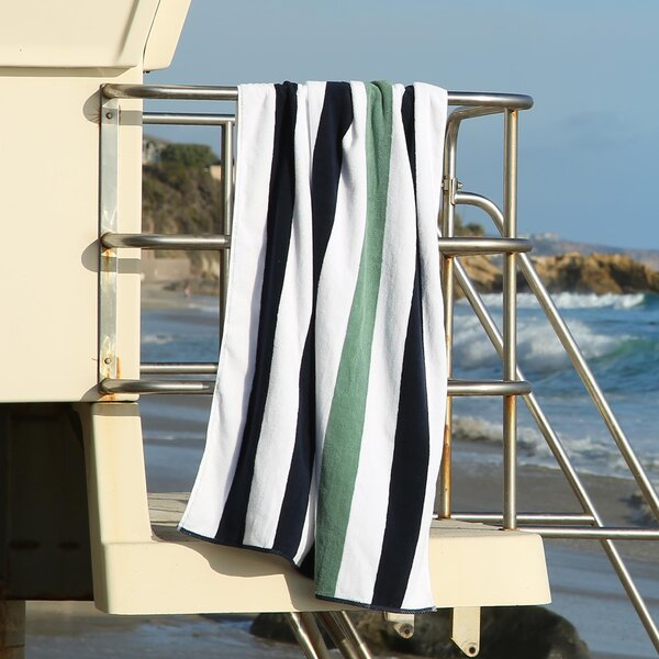 Plush Cabana 100% Cotton Beach Towel by Laguna Beach Textile Company